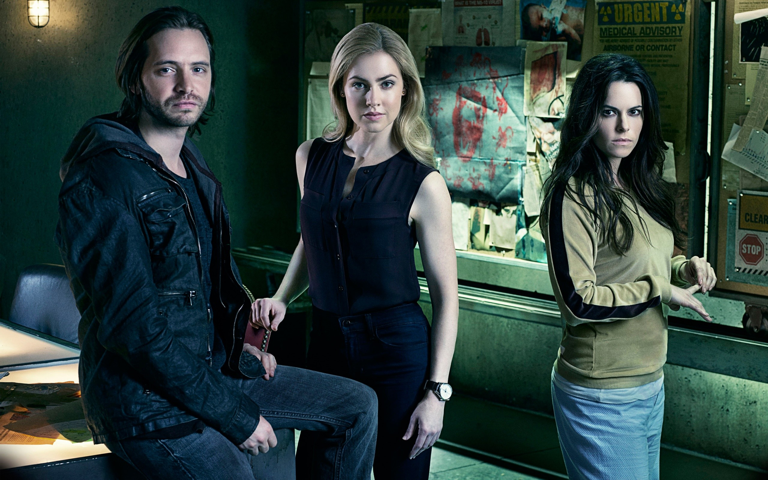 12 Monkeys 2015 Tv Series Wide