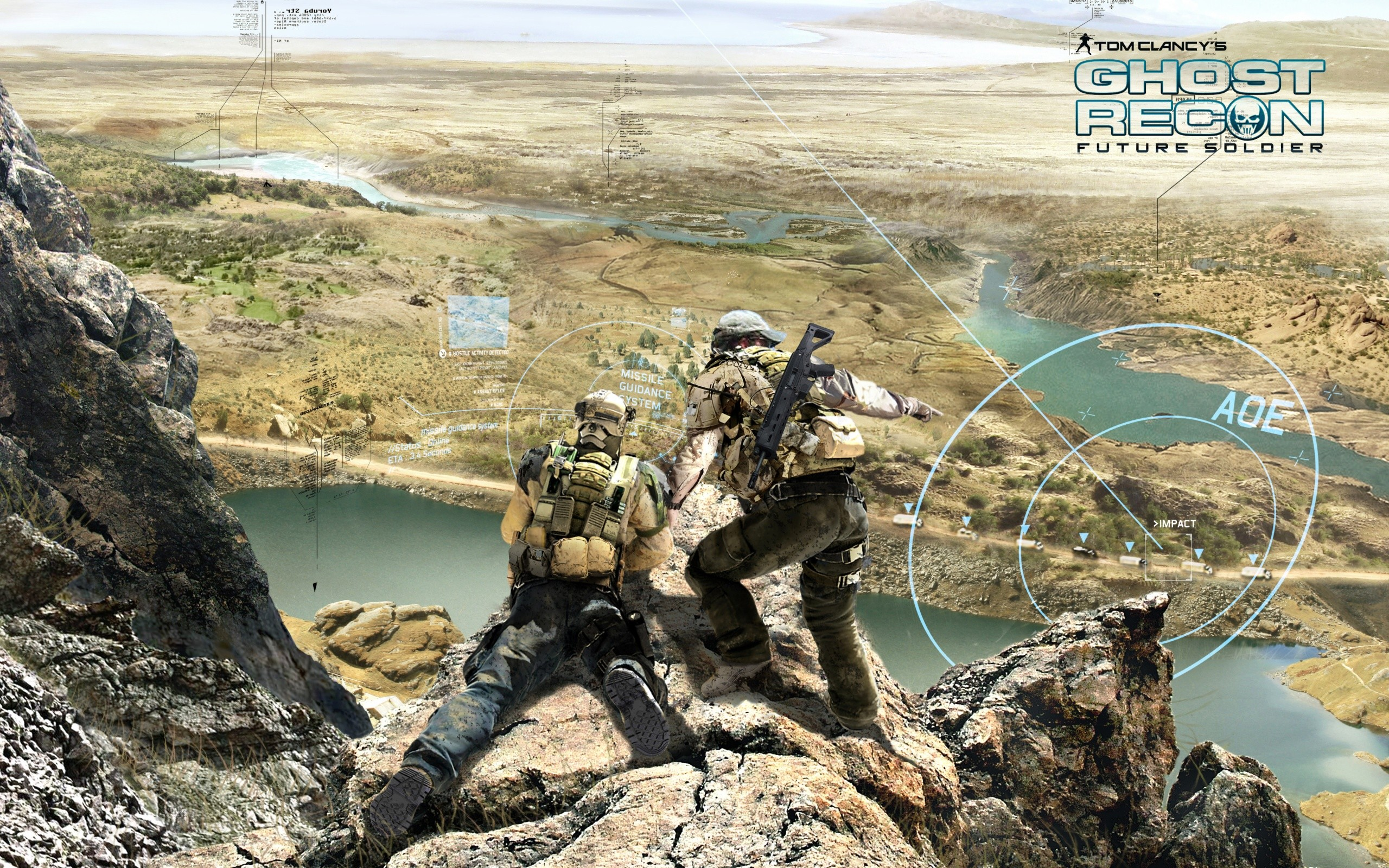 2012 Ghost Recon Future Soldier Game Wide
