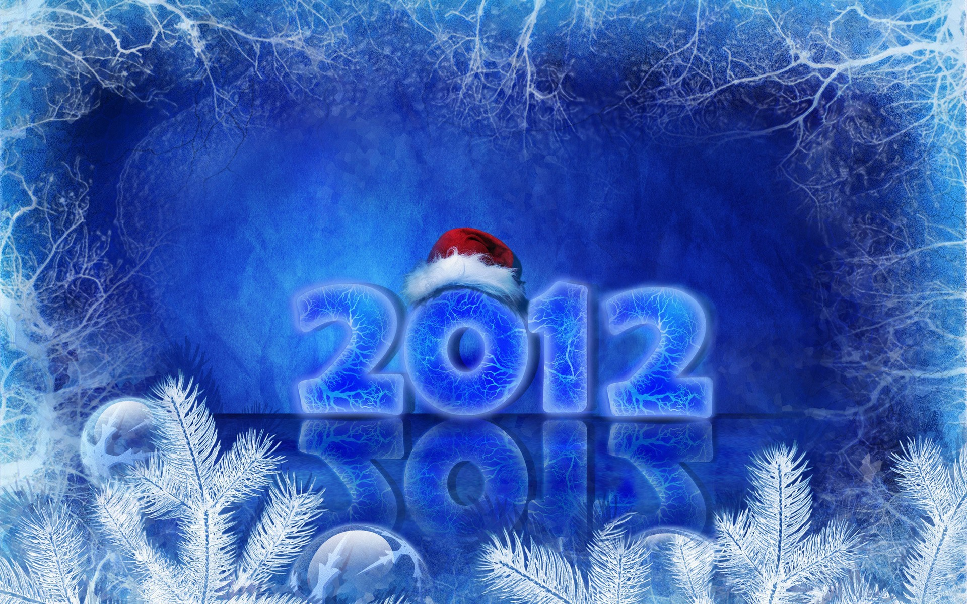 2012 Happy New Year Wide