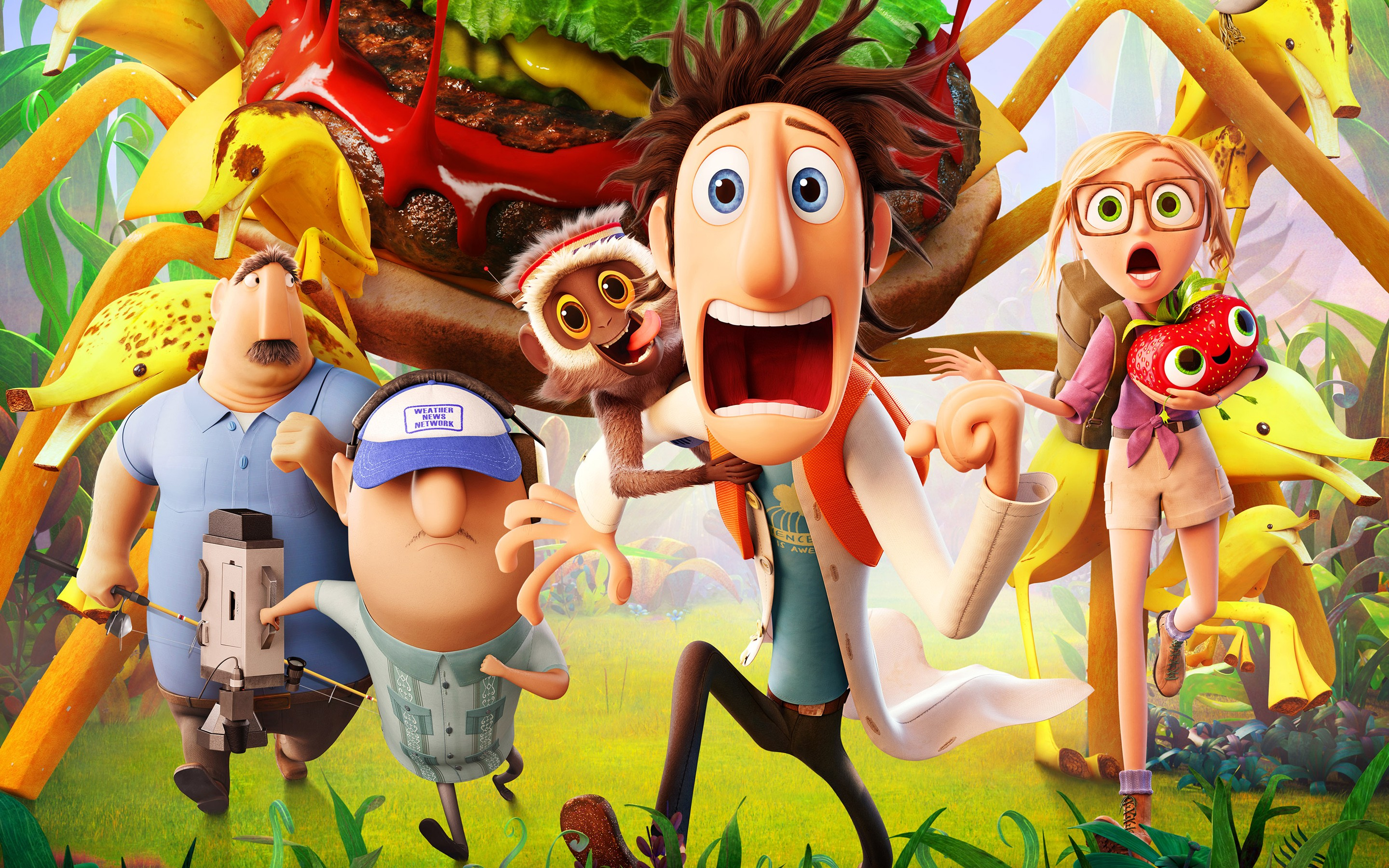 2013 Cloudy With A Chance Of Meatballs 2 Movie Wide