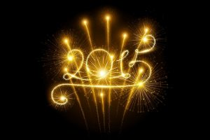 2015 Happy New Year Wide