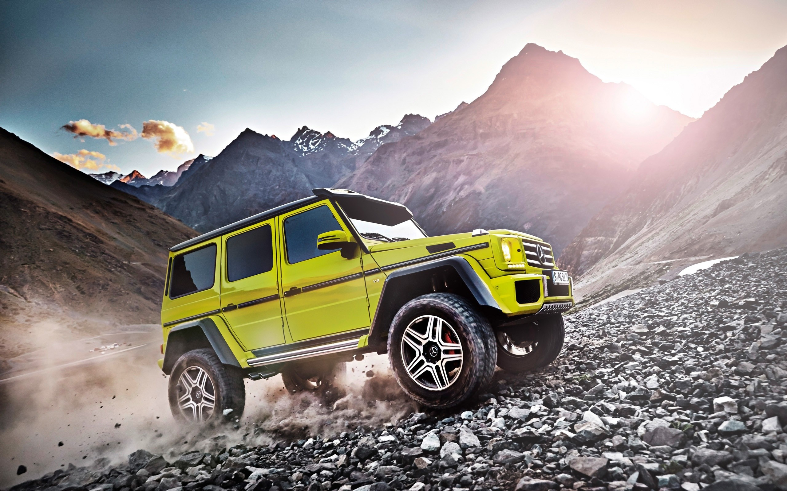 2015 Mercedes Benz G500 4x4 Wide