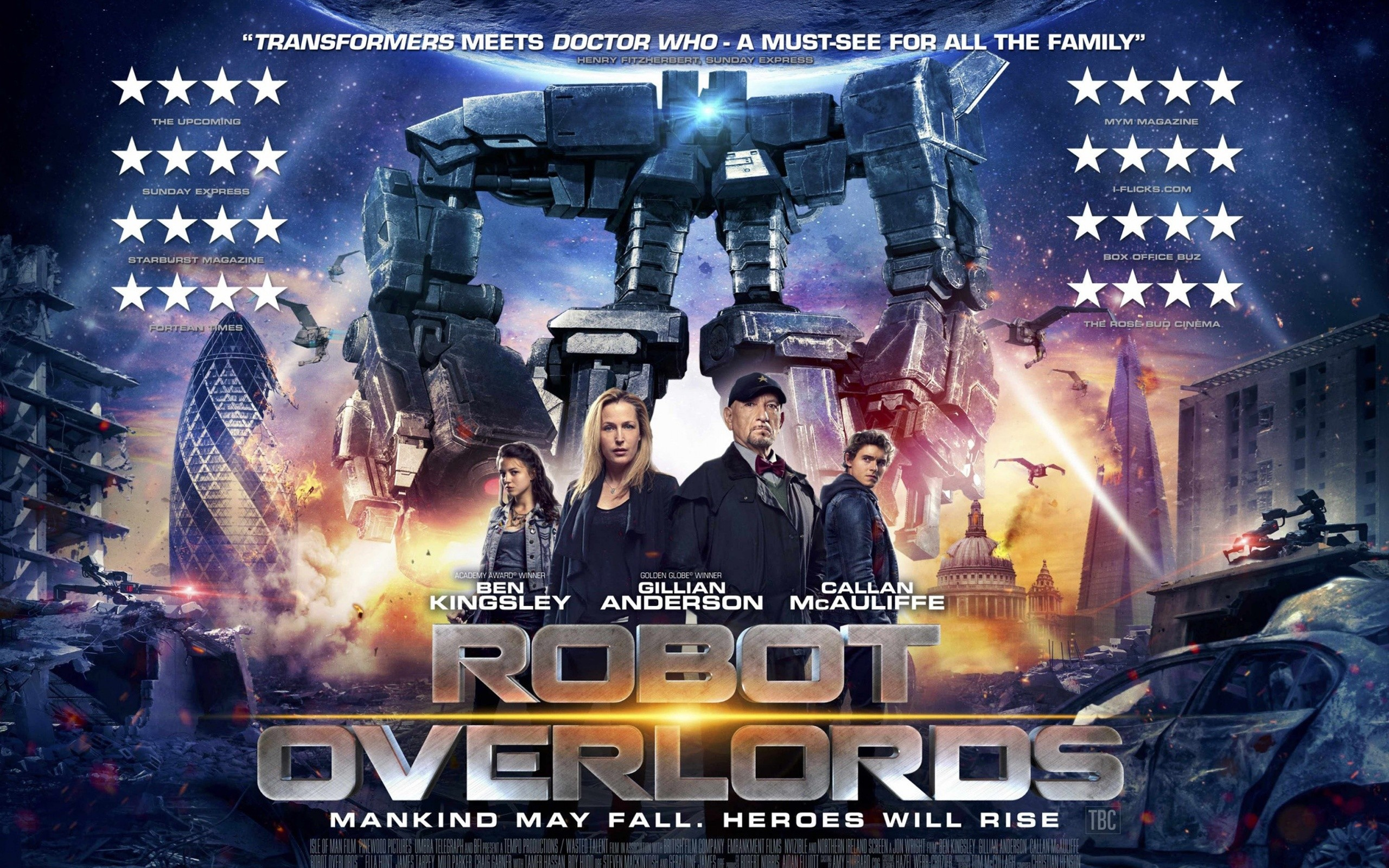 2015 Robot Overlords Movie Wide