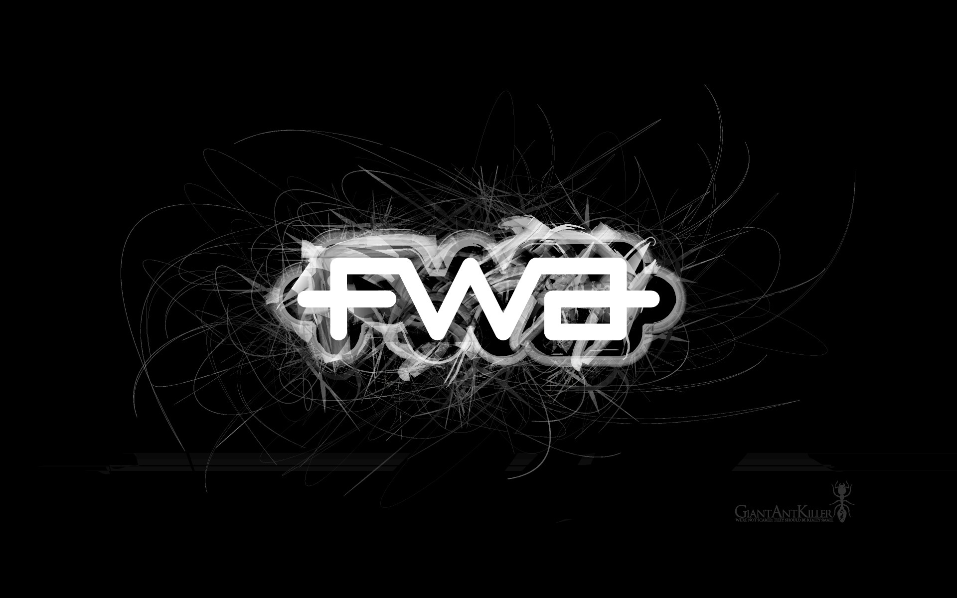 3D Black And White Fwa Wide