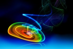 3D Color Born Abstract