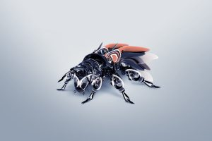 3D Robot Bee Wide