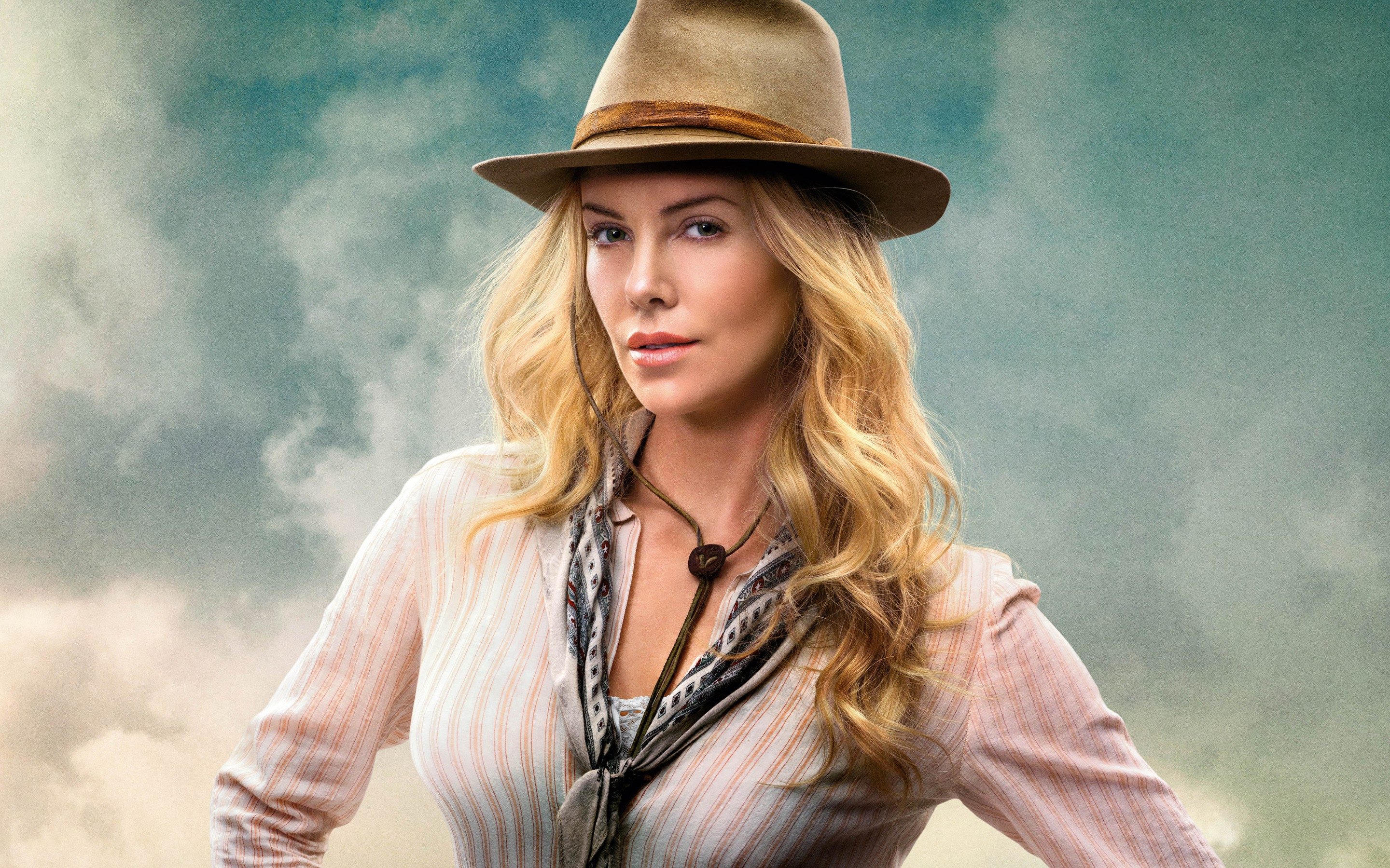 A Million Ways To Die In The West Charlize Theron Wide