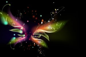 Abstract Butterfly 3D