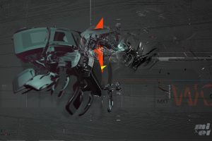 Abstract Flying Machine Wide