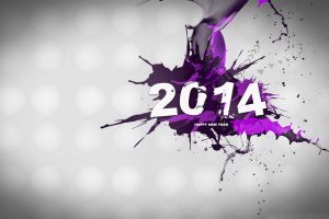 Abstract Purple 2014 Wide