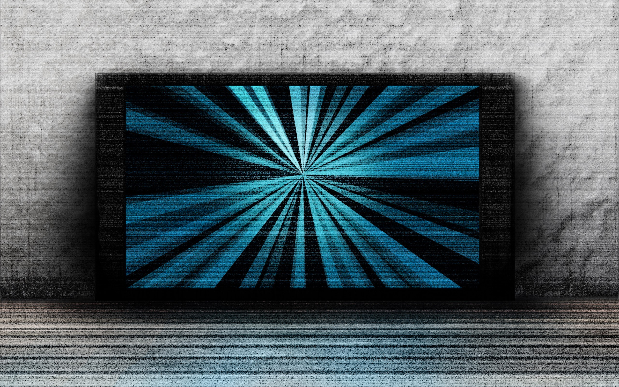 Abstract Tv Wide