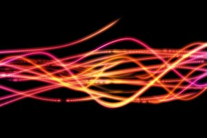 Abstract Yellow Pink Lines-Other