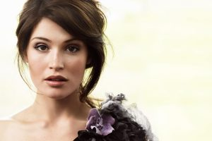 Actress Gemma Arterton Wide
