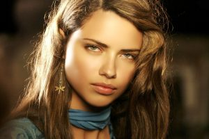 Adriana Lima Face Close Up Wide