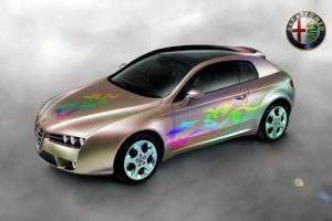 Alfa Romeo Brera Colored Wide