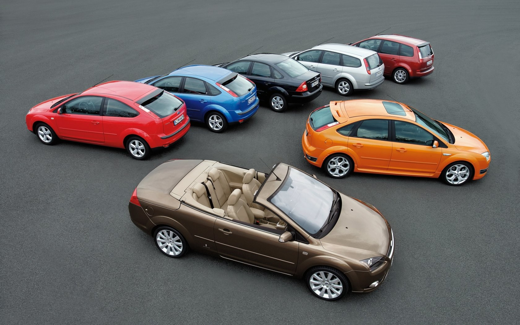All Of Ford Focus Models Wide