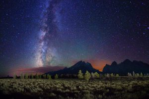 An Incredible View Of The Stars Wide