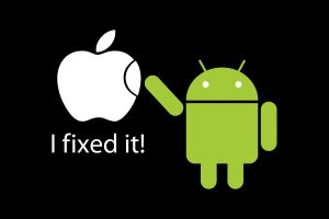 Android Vs Apple Wide