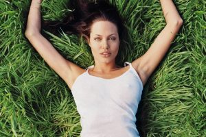 Angelina Jolie Arms Wide Open