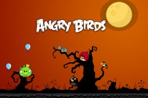 Angry Birds At Night