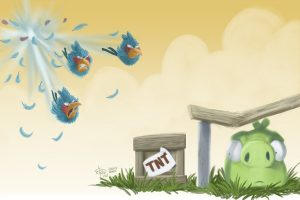Angry Birds Attacking-Other