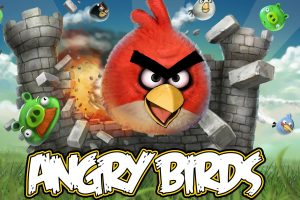 Angry Birds Breaking The Wall