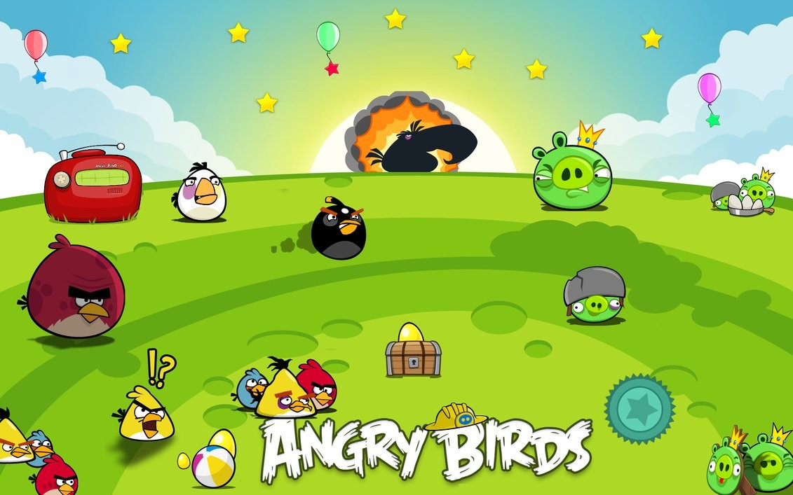Angry Birds Collection Wide