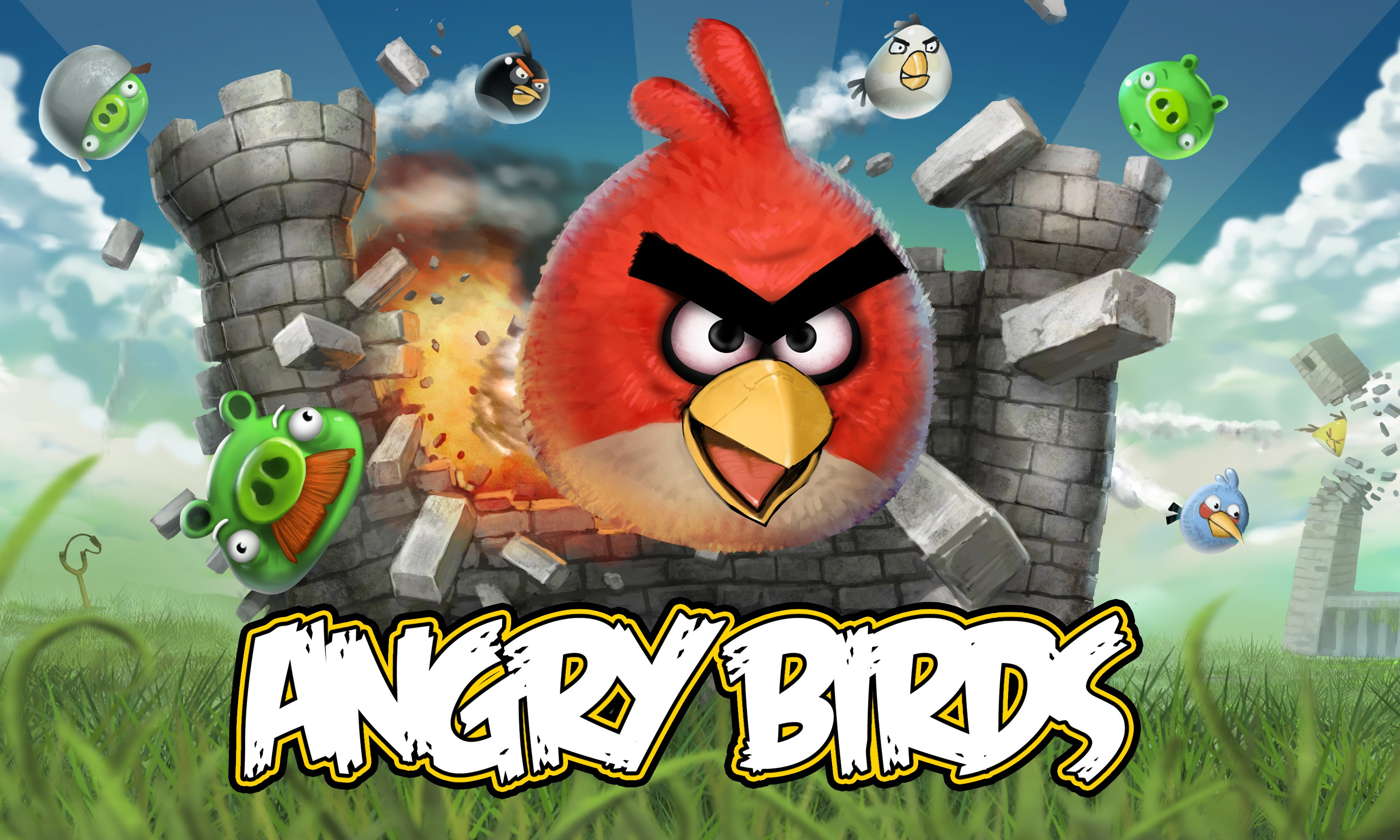 Angry Birds Exploding Castle Other