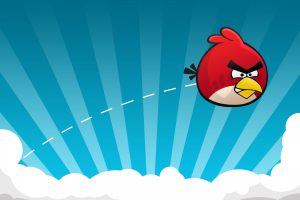 Angry Birds Red One In Action