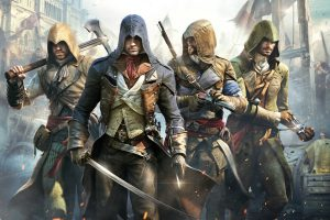 Assassins Creed Unity Poster Wide