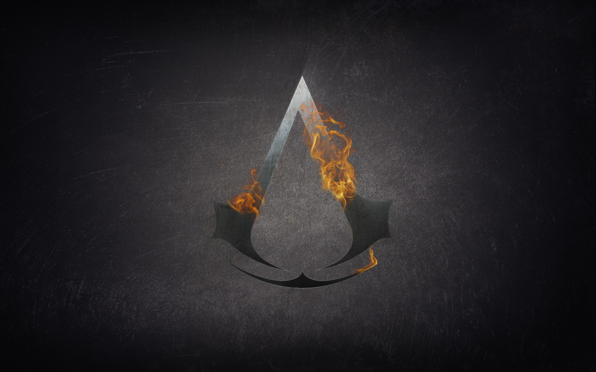 Assassins Fire Logo Wide