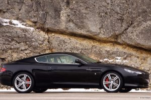 Aston Martin Db9 Sideview Wide