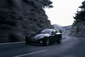 Aston Martin On The Road