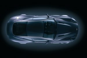 Aston Martin Top View