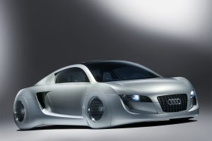 Audi Rsq Concept Abstract