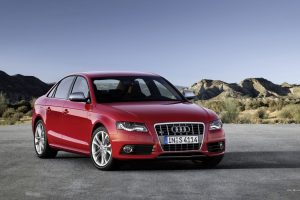 Audi S4 Red Wide