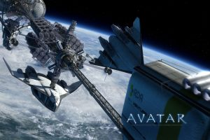 Avatar Space Ships Scene Wide