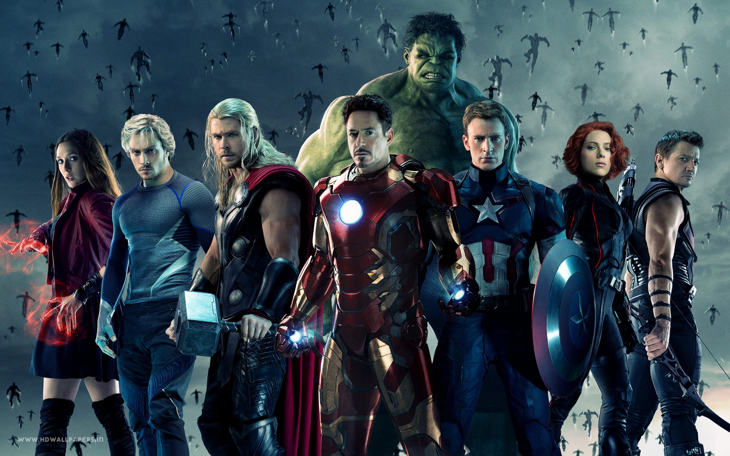 Avengers Age Of Ultron 2015 Movie Wide