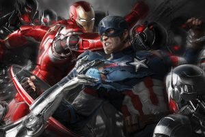 Avengers Age Of Ultron Artwork Wide