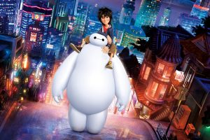 Big Hero 6 Hiro Baymax Wide
