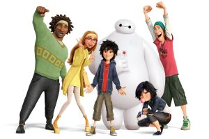 Big Hero 6 Movie Wide