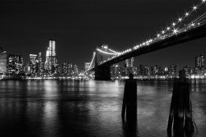 Black And White New York Wide