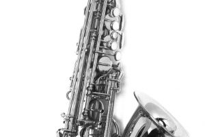 Black And White Saxophone-Other