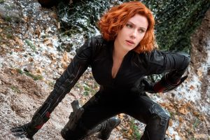 Black Widow In The Avengers 2 Wide