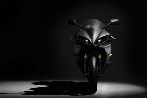 Black Yamaha Yzf R1 Wide
