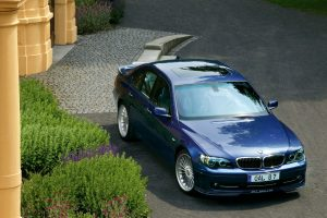 Bmw Alpina B7 In Front Of House
