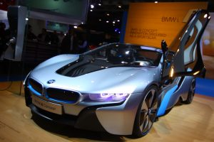 Bmw At The Auto Show