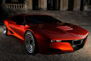 Bmw M1 Concept Cg Front View Wide