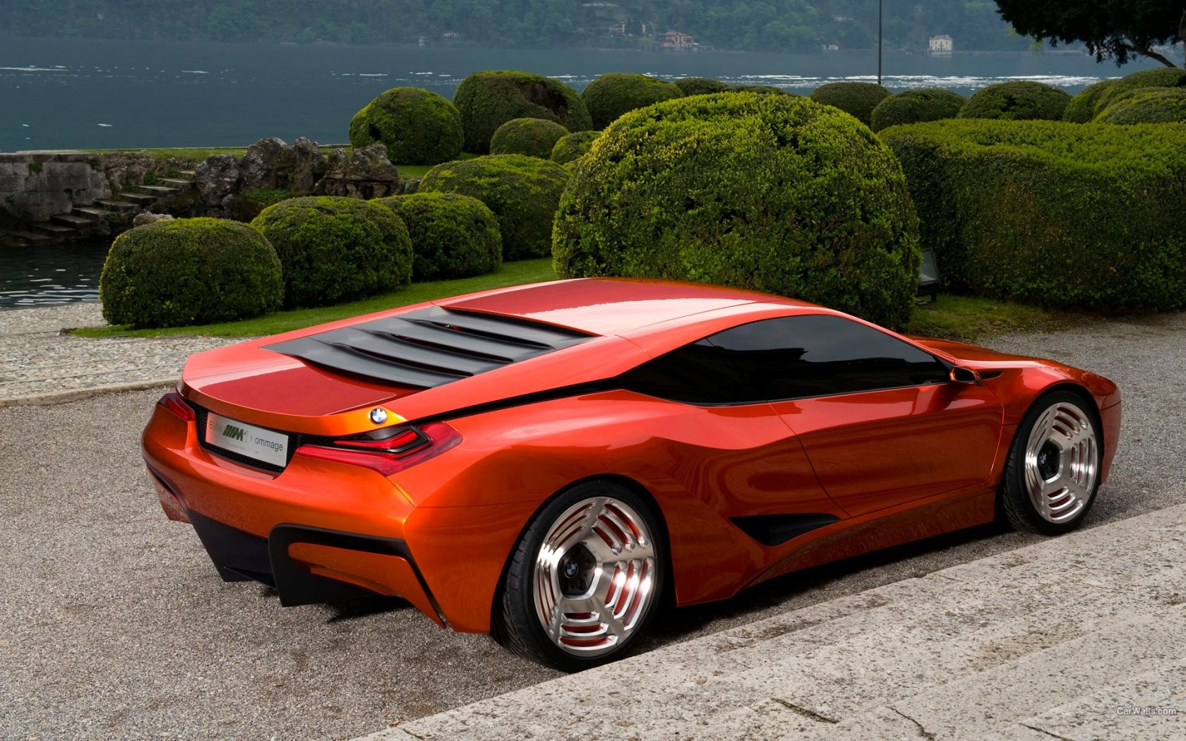 Bmw M1 Concept Computer Graphic Wide
