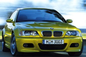 Bmw M3 Coupe Yellow